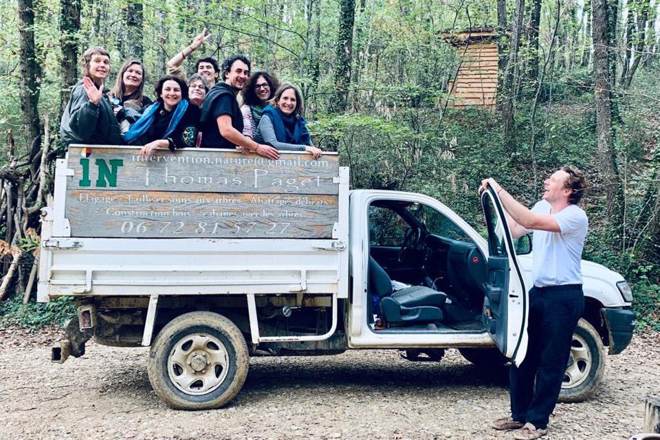 L'équipe de Mikinac, lieu nature